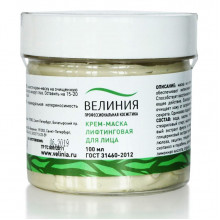 Крем-маска лифтинговая для лица с водорослями и экстрактом крапивы
